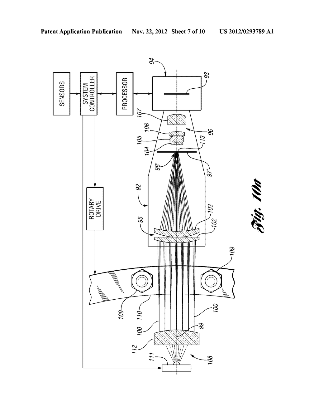 METHOD AND SYSTEM FOR OPTICALLY INSPECTING PARTS - diagram, schematic, and image 08