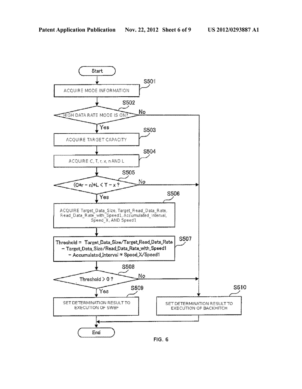 APPARATUS AND METHOD FOR CONTROLLING DATA WRITING TO A TAPE    MEDIUM - diagram, schematic, and image 07