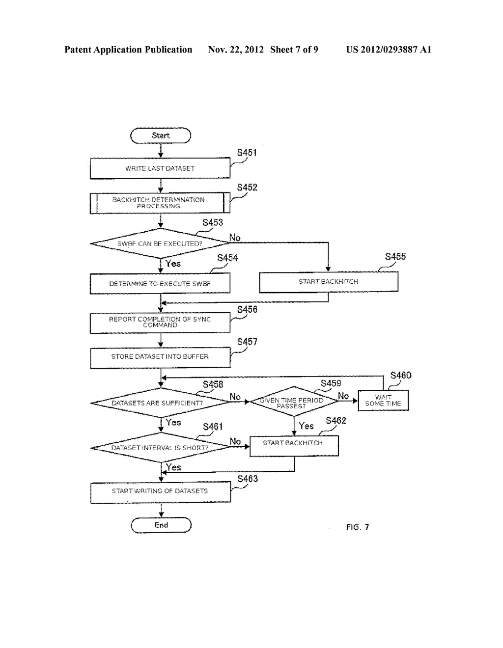 APPARATUS AND METHOD FOR CONTROLLING DATA WRITING TO A TAPE    MEDIUM - diagram, schematic, and image 08