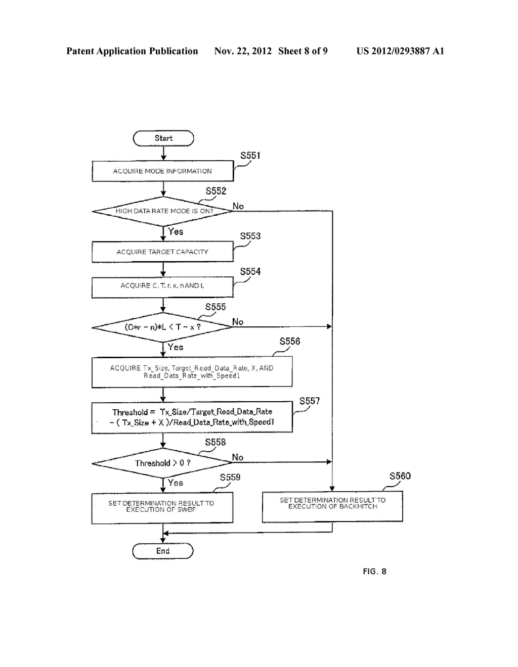APPARATUS AND METHOD FOR CONTROLLING DATA WRITING TO A TAPE    MEDIUM - diagram, schematic, and image 09