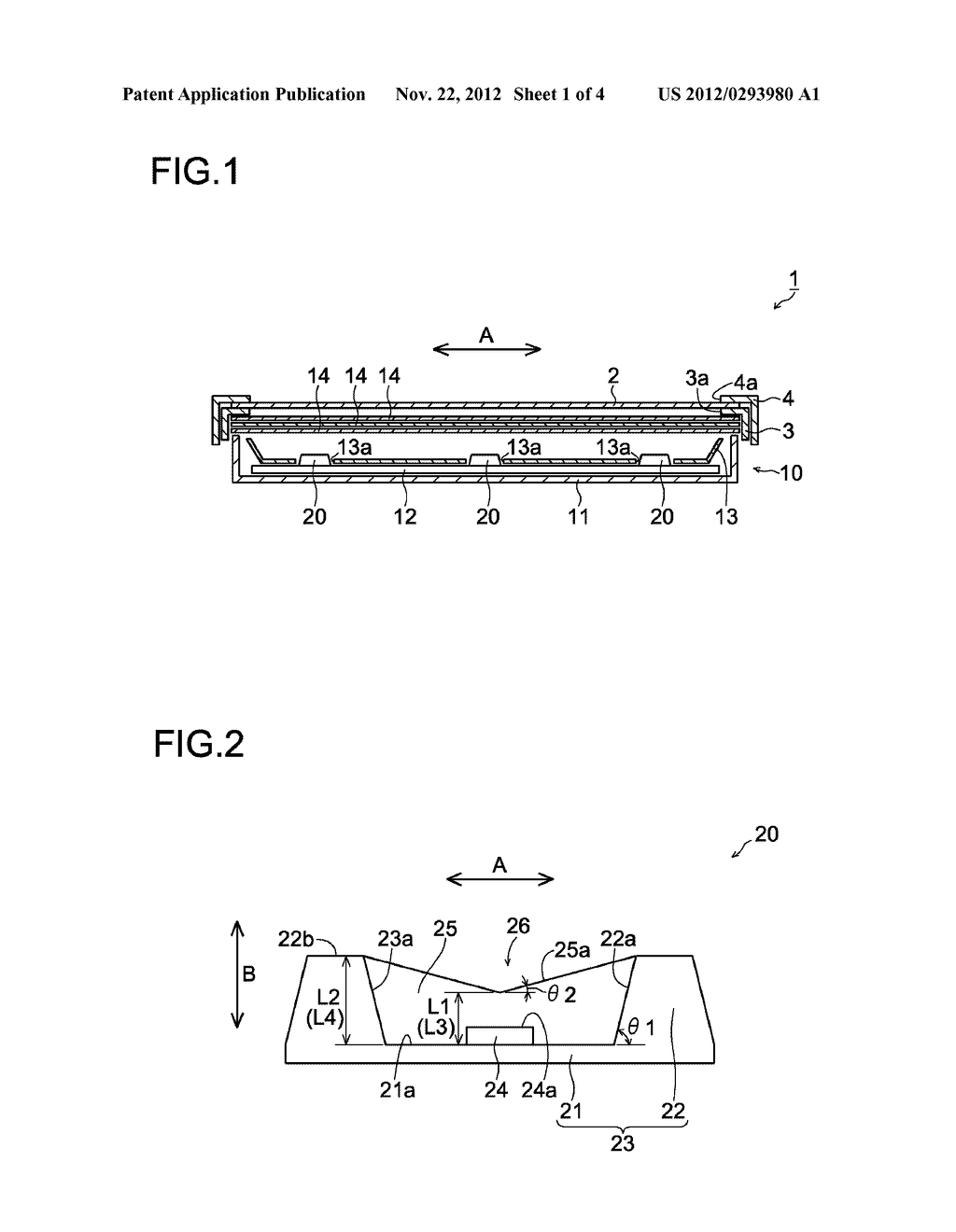 LIGHT-EMITTING UNIT, BACKLIGHT DEVICE AND DISPLAY APPARATUS - diagram, schematic, and image 02