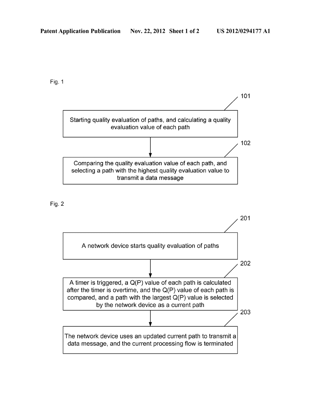 Method and apparatus for multi-homing path selection of stream control     transmission protocol - diagram, schematic, and image 02