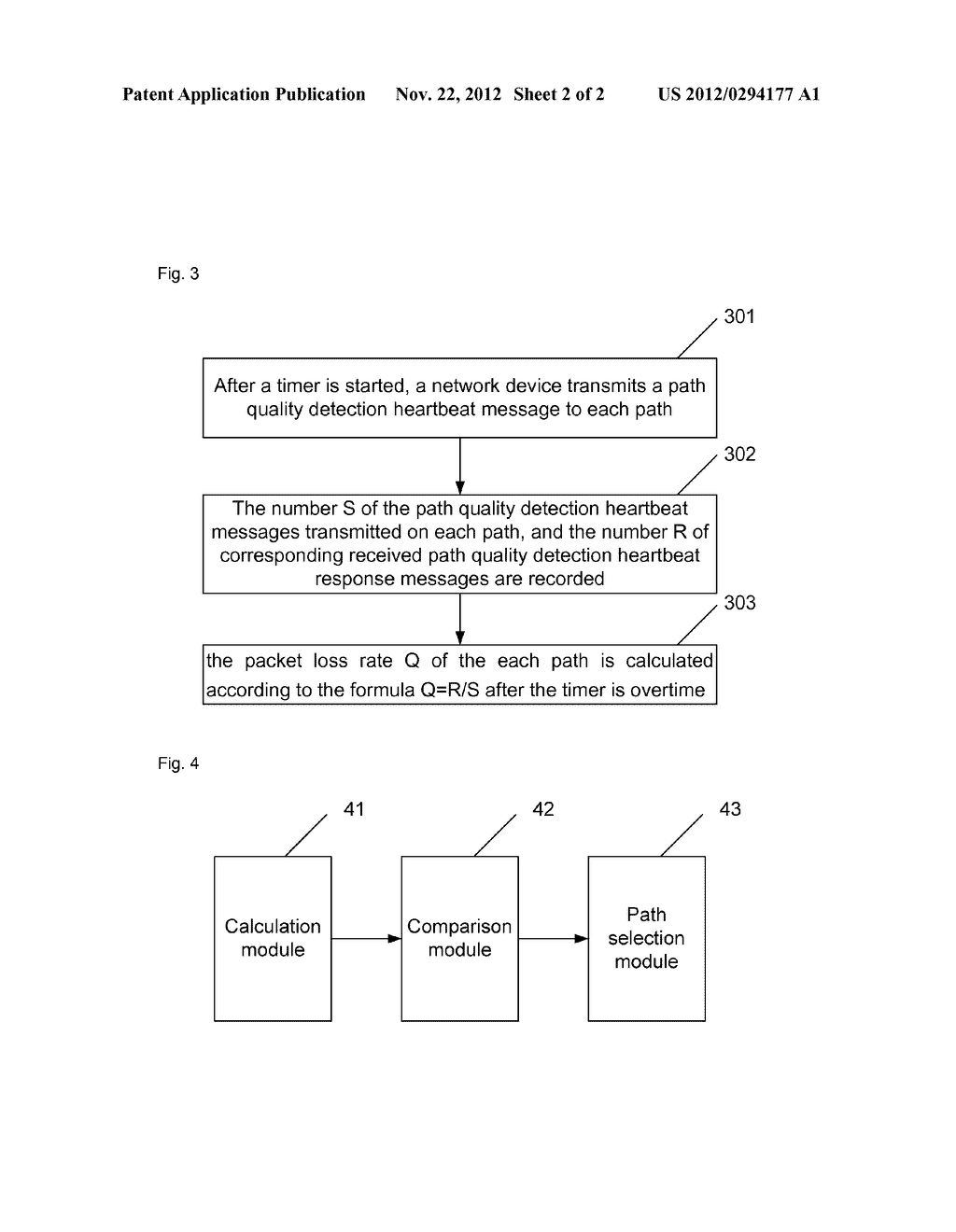 Method and apparatus for multi-homing path selection of stream control     transmission protocol - diagram, schematic, and image 03