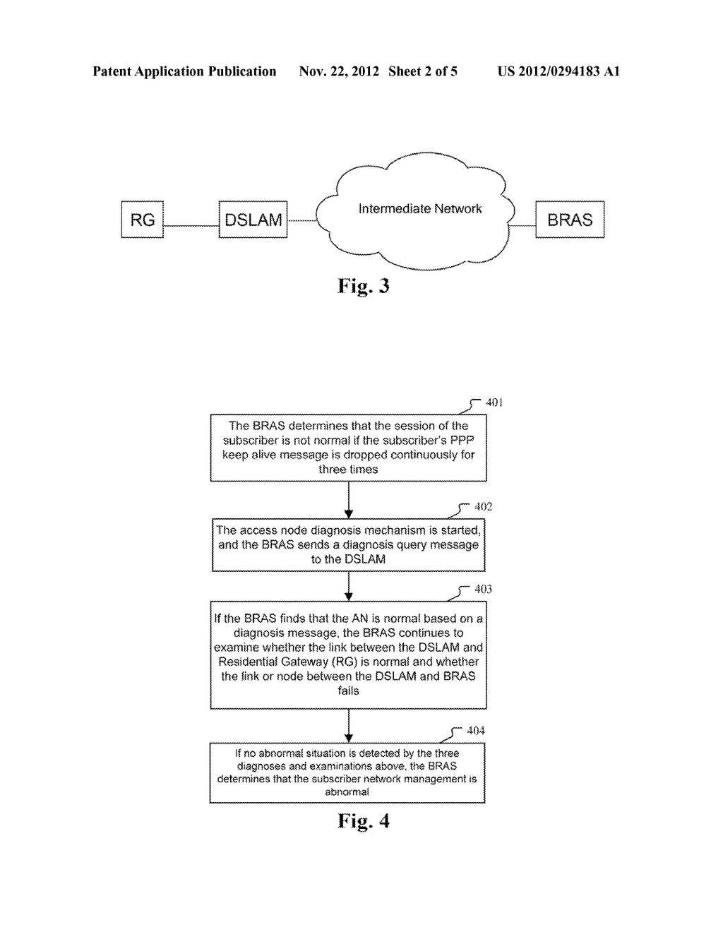 Method and system for diagnosing access node - diagram, schematic, and image 03