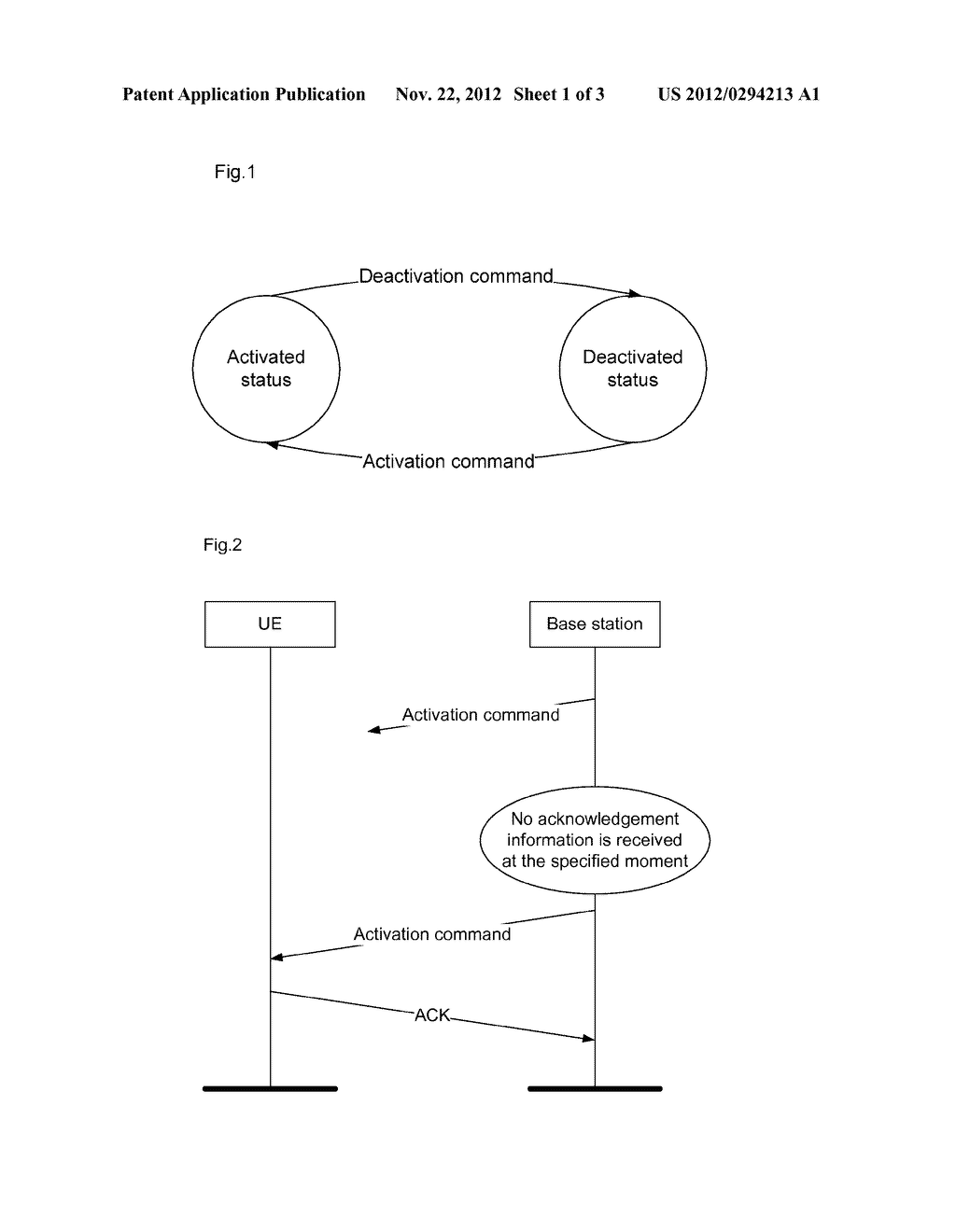 Optimized method and system for activating and deactivating component     carrier in multi-carrier system - diagram, schematic, and image 02