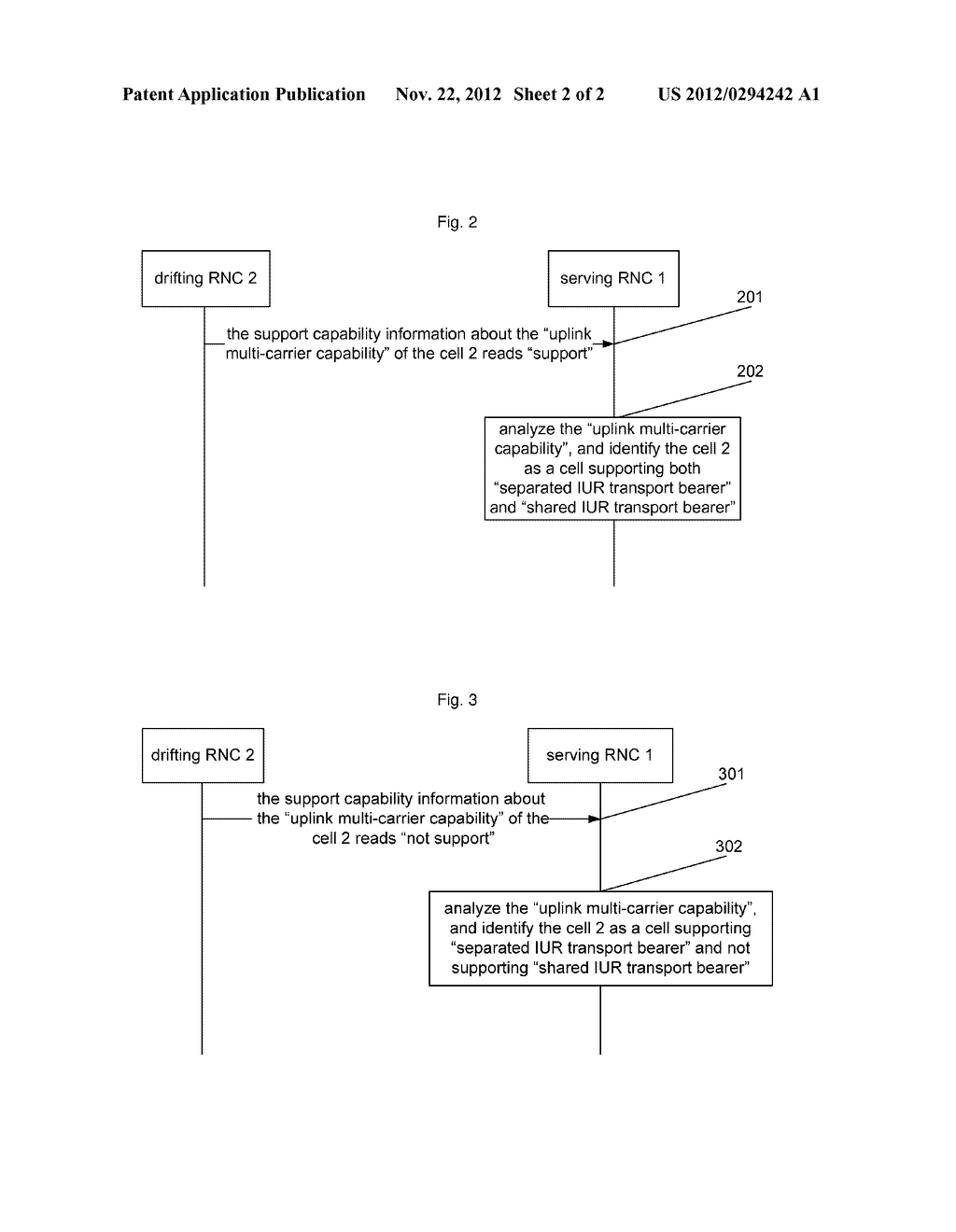 Method and System for Identifying Transport Bearer Capacity of IUR     Interface - diagram, schematic, and image 03