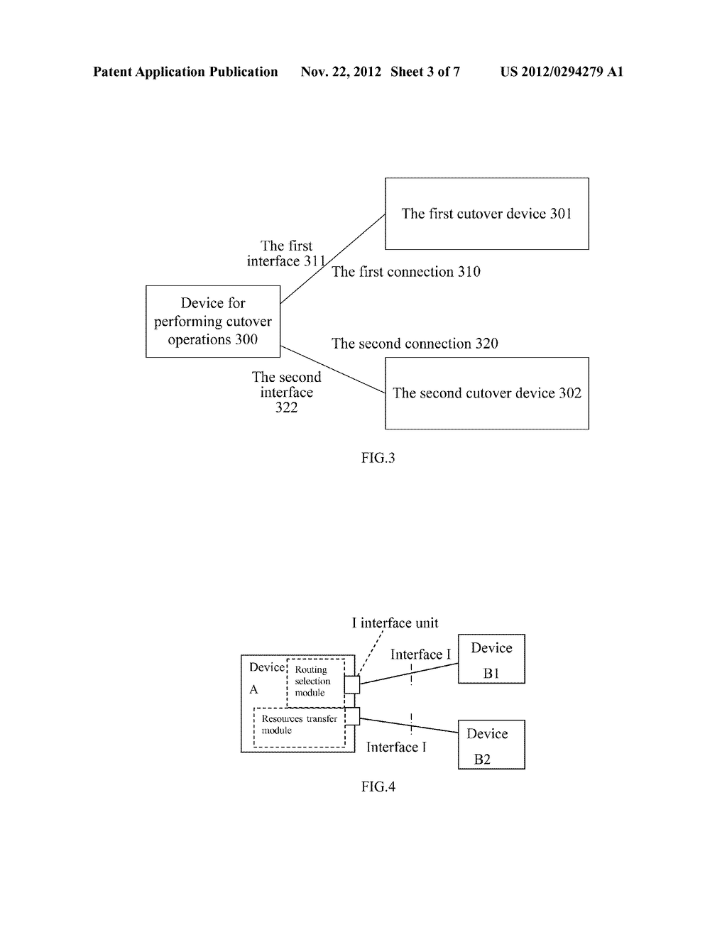 METHOD FOR COMPLETING SMOOTH CUT-OVER, DEVICE AND EQUIPMENT FOR PERFORMING     CUT-OVER OPERATIONS - diagram, schematic, and image 04
