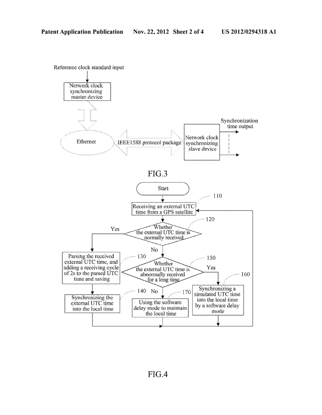 Method and System for Implementing Time Synchronization in Local Area     Network (LAN) - diagram, schematic, and image 03