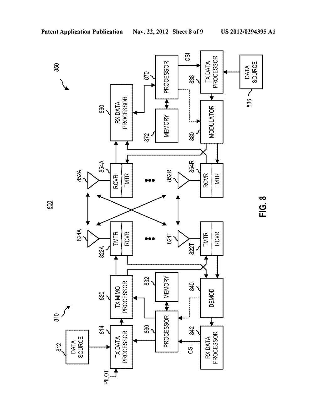CANCELLING INTERFERENCE BY DETERMINING MODULATION AND CODING INFORMATION     EMBEDDED IN A RECEIVED SPATIAL STREAM - diagram, schematic, and image 09