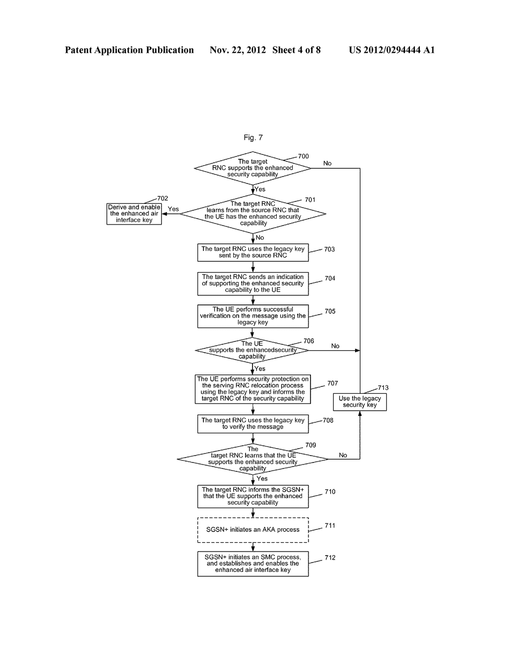 Method and system for establishing enhanced air interface key - diagram, schematic, and image 05