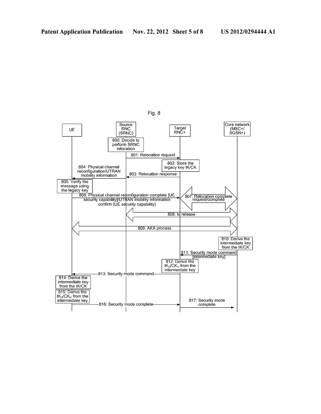 Method and system for establishing enhanced air interface key - diagram, schematic, and image 06