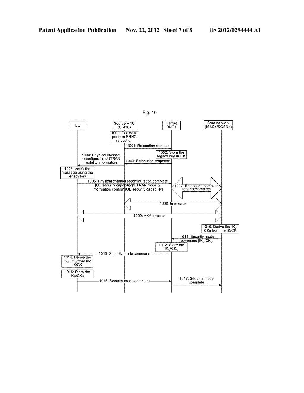 Method and system for establishing enhanced air interface key - diagram, schematic, and image 08