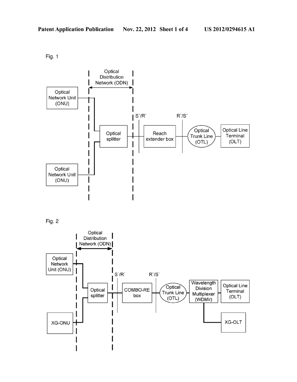 Long-distance box and method for processing uplink and downlink light     thereof - diagram, schematic, and image 02