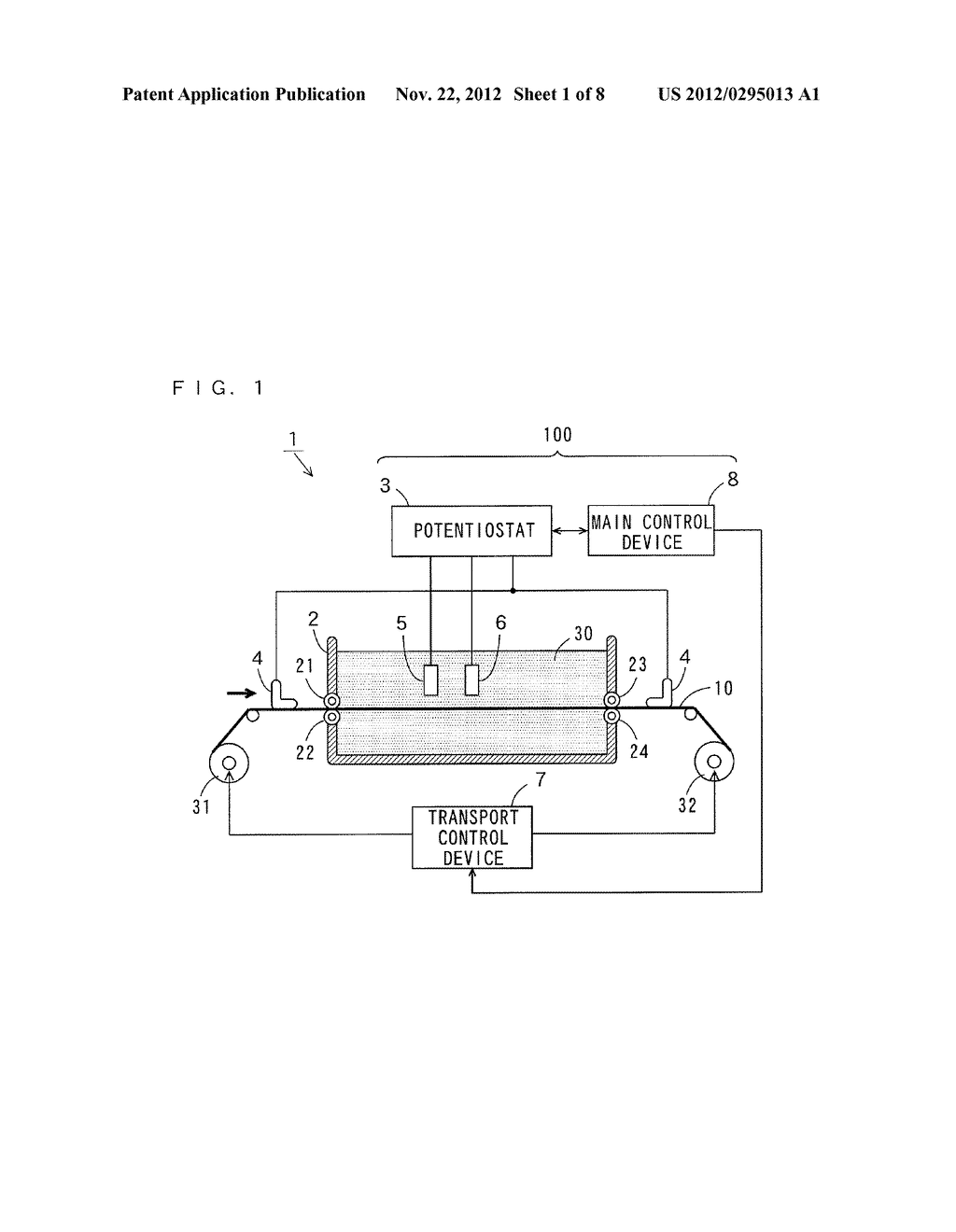 ELECTROLESS PLATING APPARATUS, METHOD OF ELECTROLESS PLATING, AND     MANUFACTURING METHOD OF PRINTED CIRCUIT BOARD - diagram, schematic, and image 02