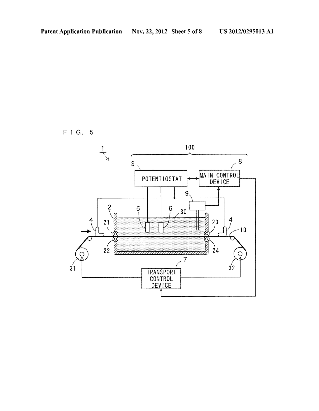 ELECTROLESS PLATING APPARATUS, METHOD OF ELECTROLESS PLATING, AND     MANUFACTURING METHOD OF PRINTED CIRCUIT BOARD - diagram, schematic, and image 06