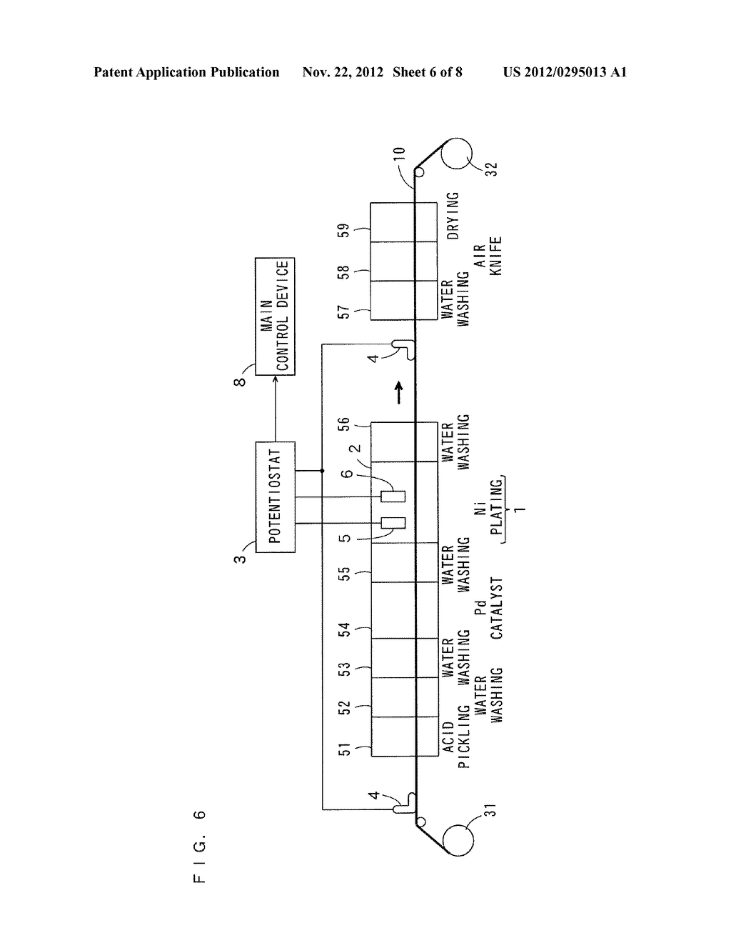 ELECTROLESS PLATING APPARATUS, METHOD OF ELECTROLESS PLATING, AND     MANUFACTURING METHOD OF PRINTED CIRCUIT BOARD - diagram, schematic, and image 07