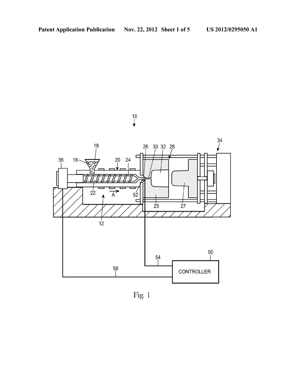 Method for Injection Molding at Low, Substantially Constant Pressure - diagram, schematic, and image 02