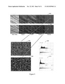 Low roughness high surface-energy, anti-microbial fabric diagram and image