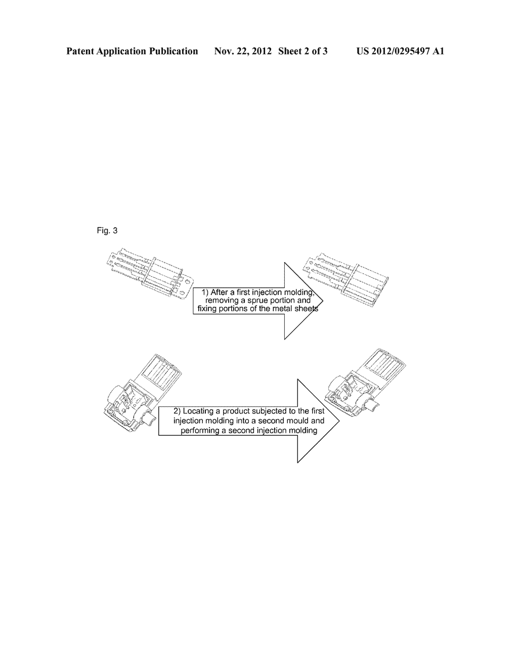 Universal serial bus head and manufacturing method thereof - diagram, schematic, and image 03
