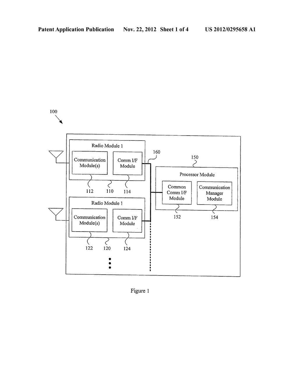 SINGLE CHIP MULTIMODE BASEBAND PROCESSING CIRCUITRY WITH A SHARED RADIO     INTERFACE - diagram, schematic, and image 02