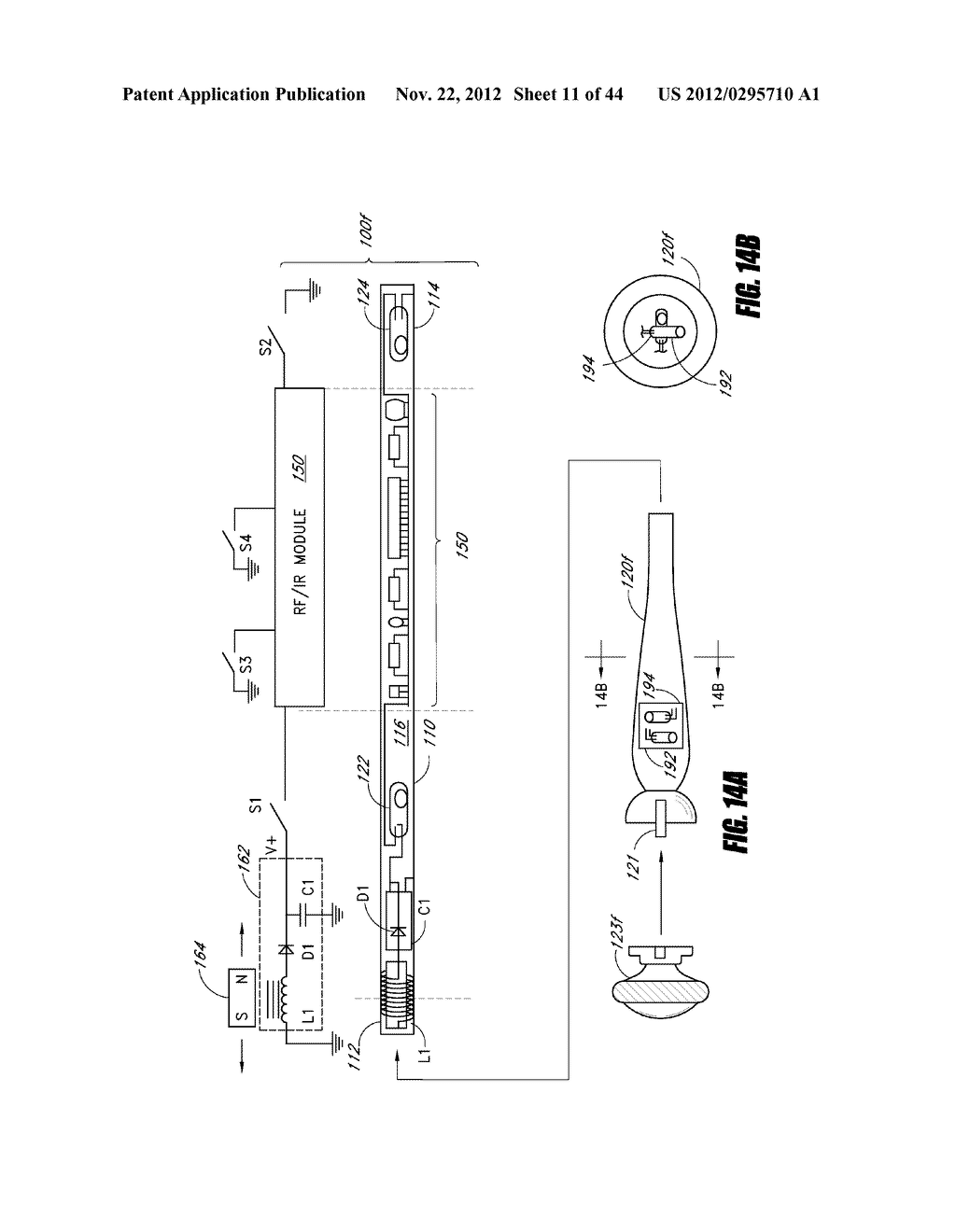 INTERACTIVE GAMING SYSTEM AND METHOD USING MOTION-SENSITIVE INPUT DEVICE - diagram, schematic, and image 12