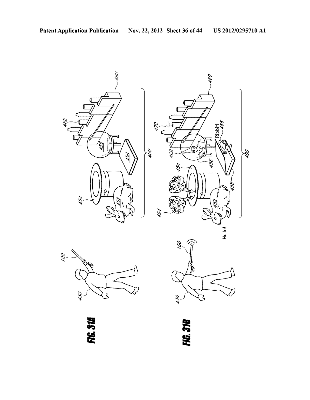 INTERACTIVE GAMING SYSTEM AND METHOD USING MOTION-SENSITIVE INPUT DEVICE - diagram, schematic, and image 37