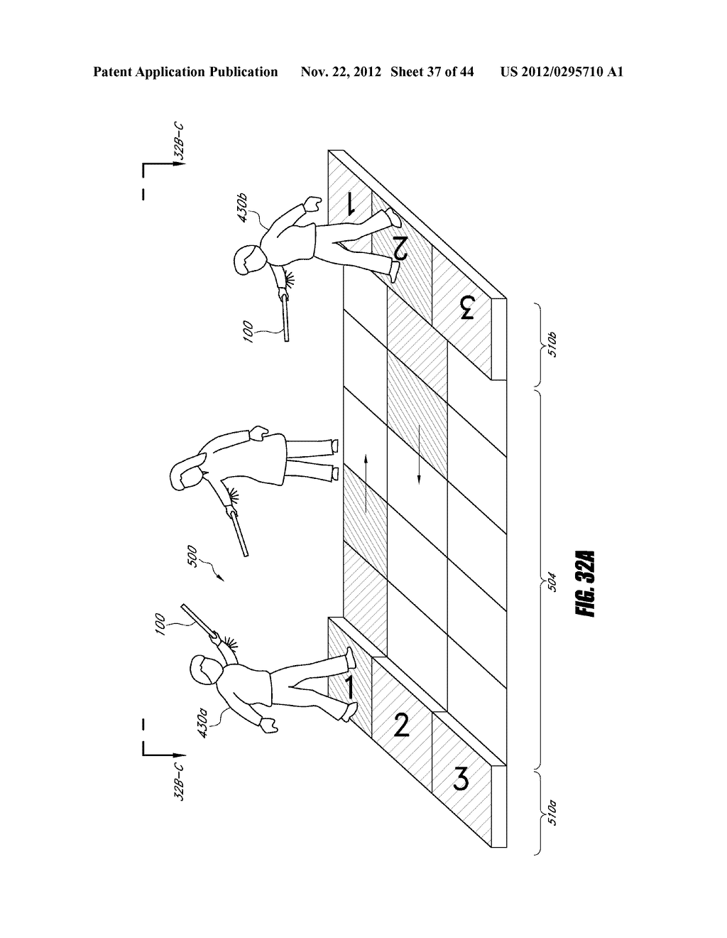 INTERACTIVE GAMING SYSTEM AND METHOD USING MOTION-SENSITIVE INPUT DEVICE - diagram, schematic, and image 38