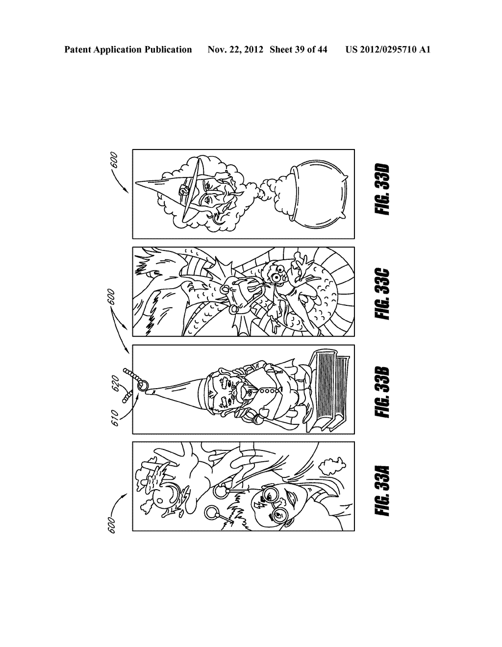 INTERACTIVE GAMING SYSTEM AND METHOD USING MOTION-SENSITIVE INPUT DEVICE - diagram, schematic, and image 40