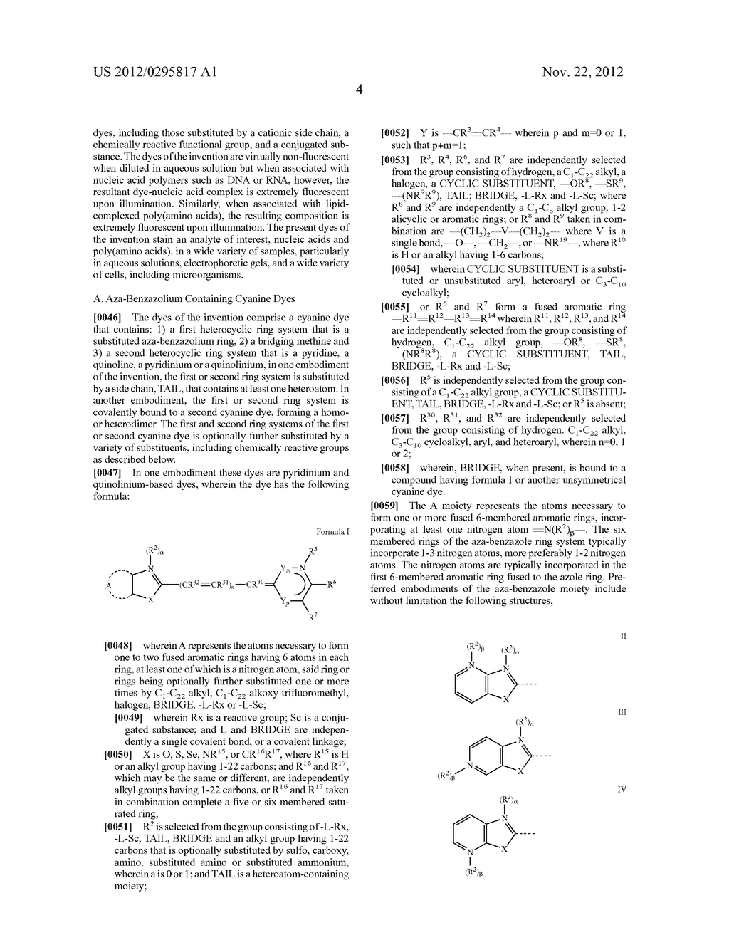 Aza-benzazolium Containing Cyanine Dyes - diagram, schematic, and image 09