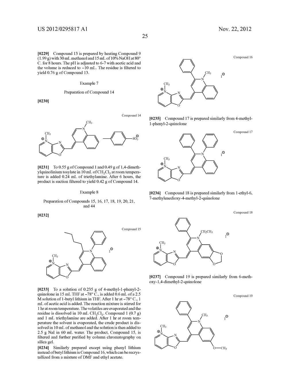 Aza-benzazolium Containing Cyanine Dyes - diagram, schematic, and image 30