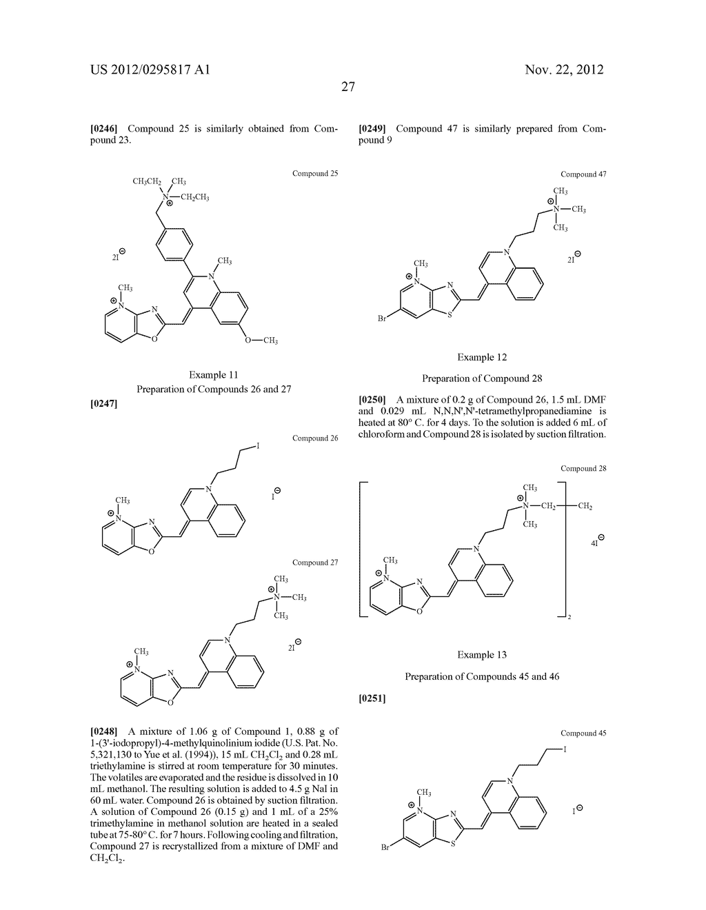 Aza-benzazolium Containing Cyanine Dyes - diagram, schematic, and image 32