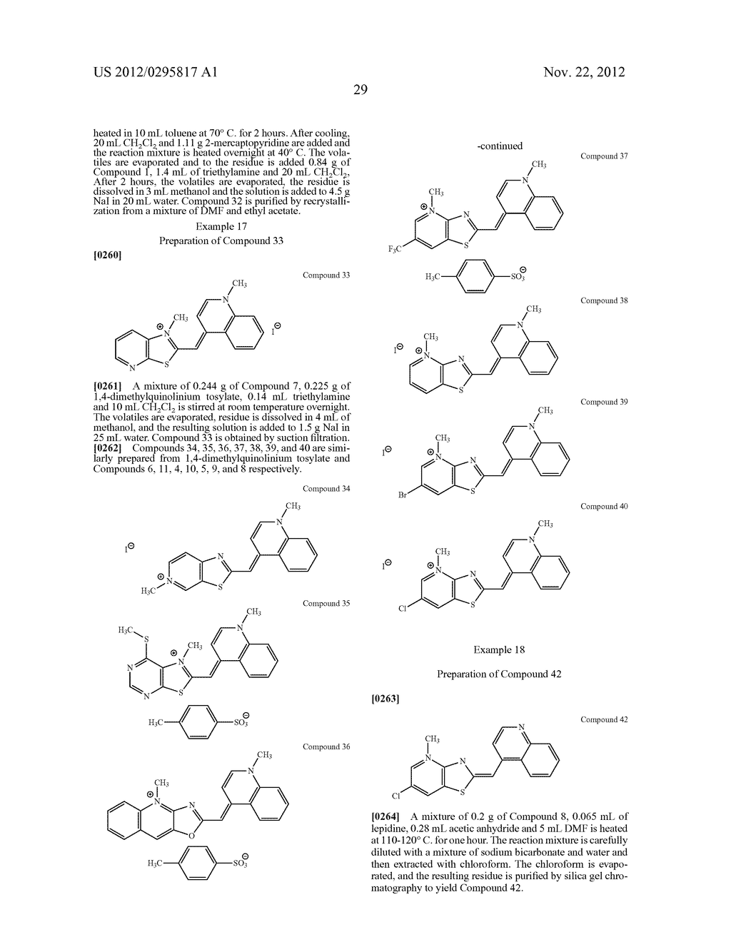 Aza-benzazolium Containing Cyanine Dyes - diagram, schematic, and image 34