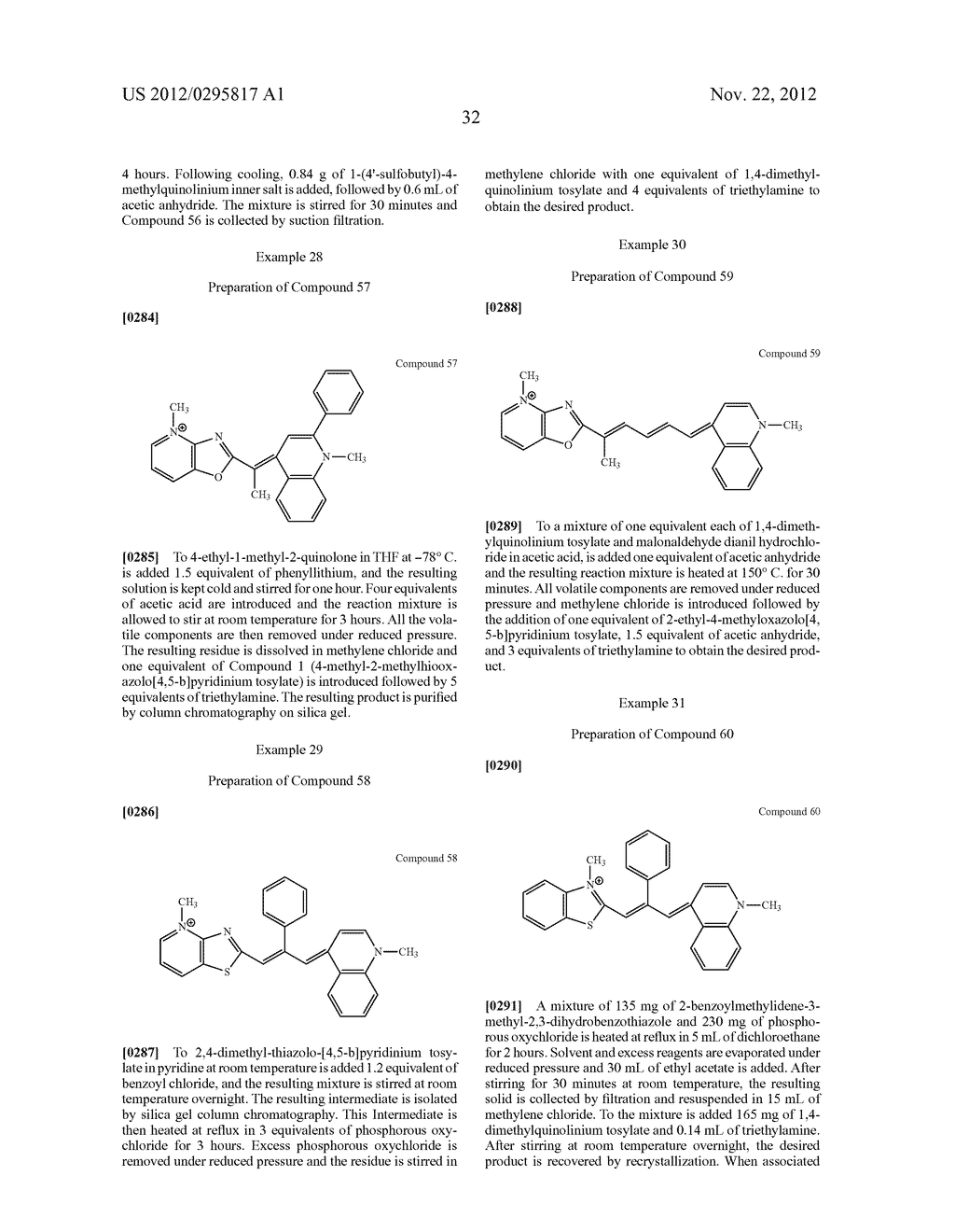 Aza-benzazolium Containing Cyanine Dyes - diagram, schematic, and image 37