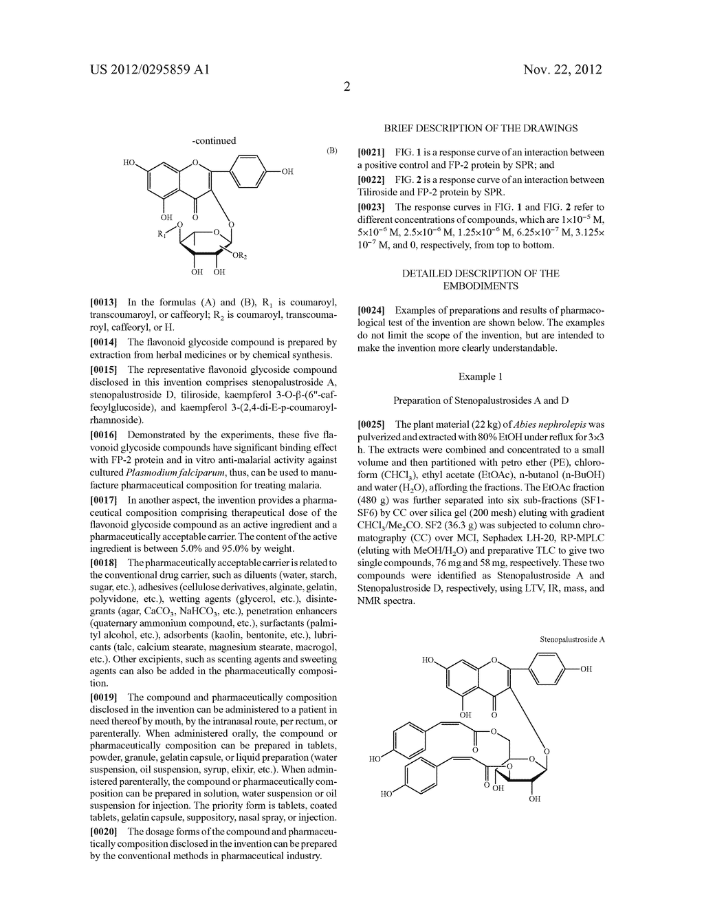 METHOD FOR TREATMENT OF MALARIA - diagram, schematic, and image 05