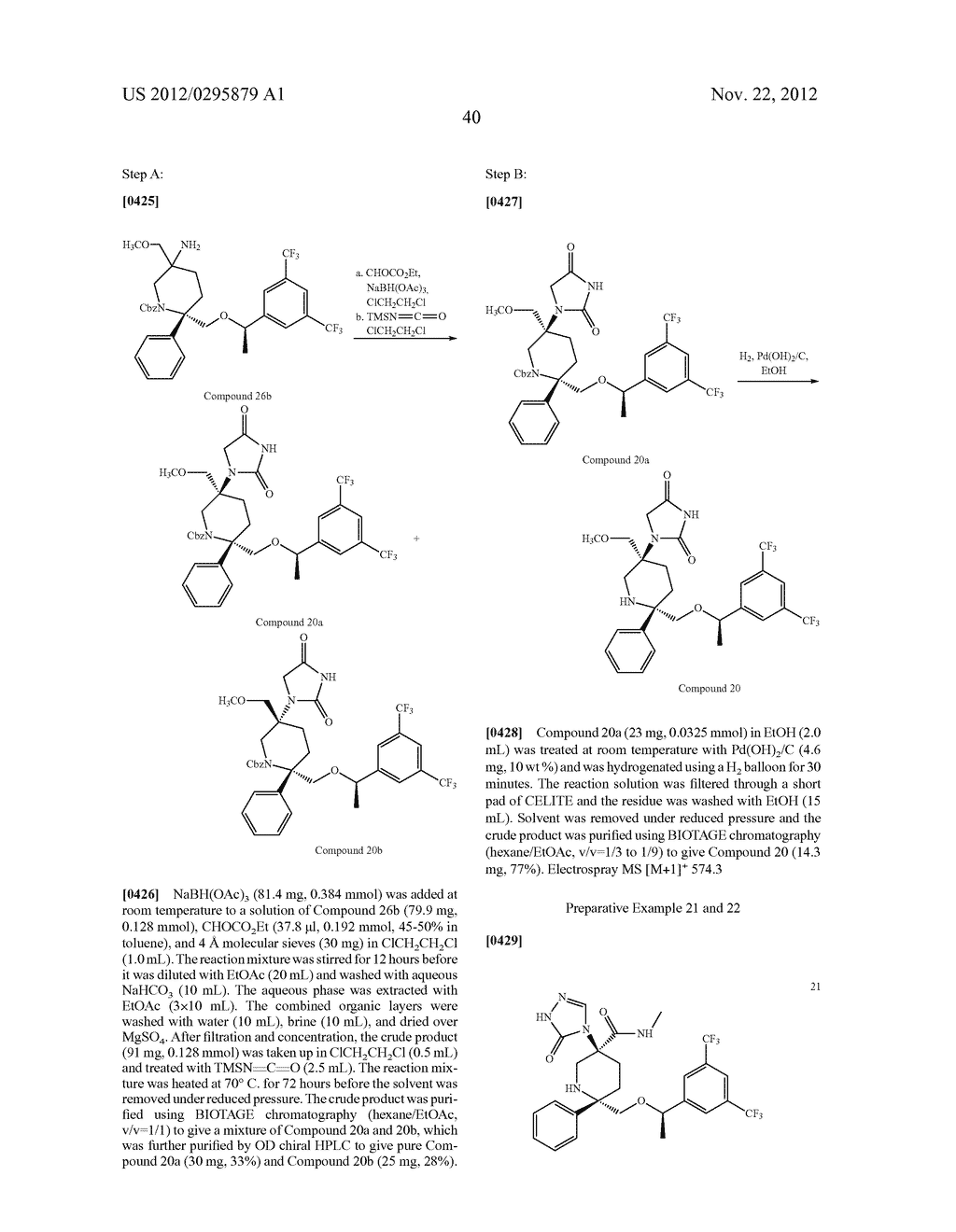 NK1 Antagonists - diagram, schematic, and image 41