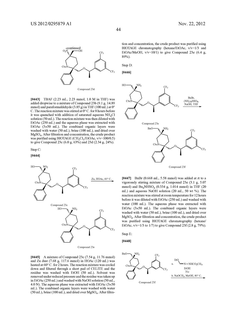NK1 Antagonists - diagram, schematic, and image 45