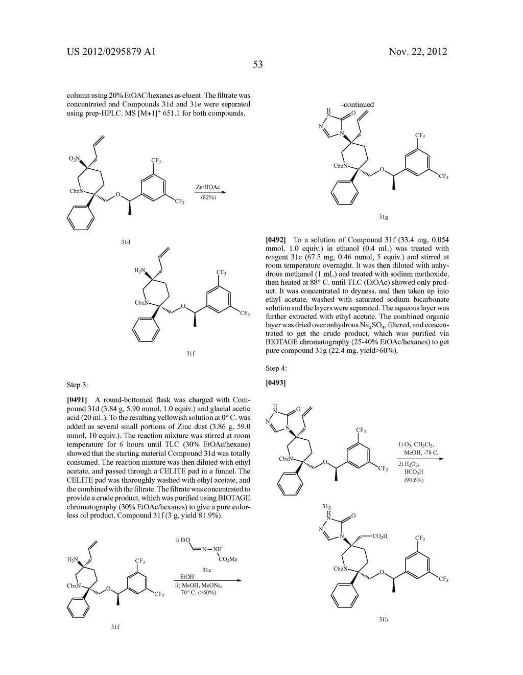 NK1 Antagonists - diagram, schematic, and image 54