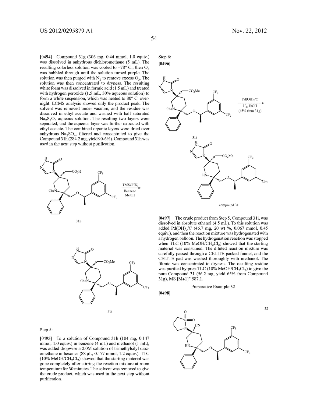 NK1 Antagonists - diagram, schematic, and image 55