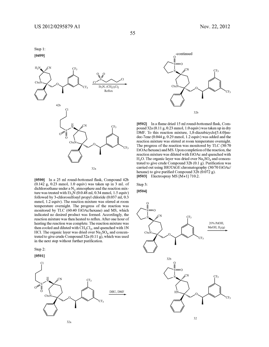 NK1 Antagonists - diagram, schematic, and image 56