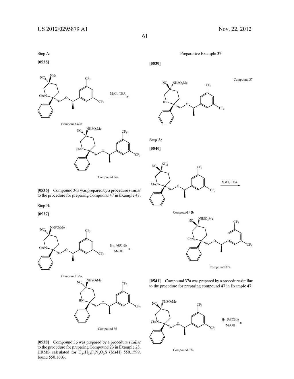 NK1 Antagonists - diagram, schematic, and image 62