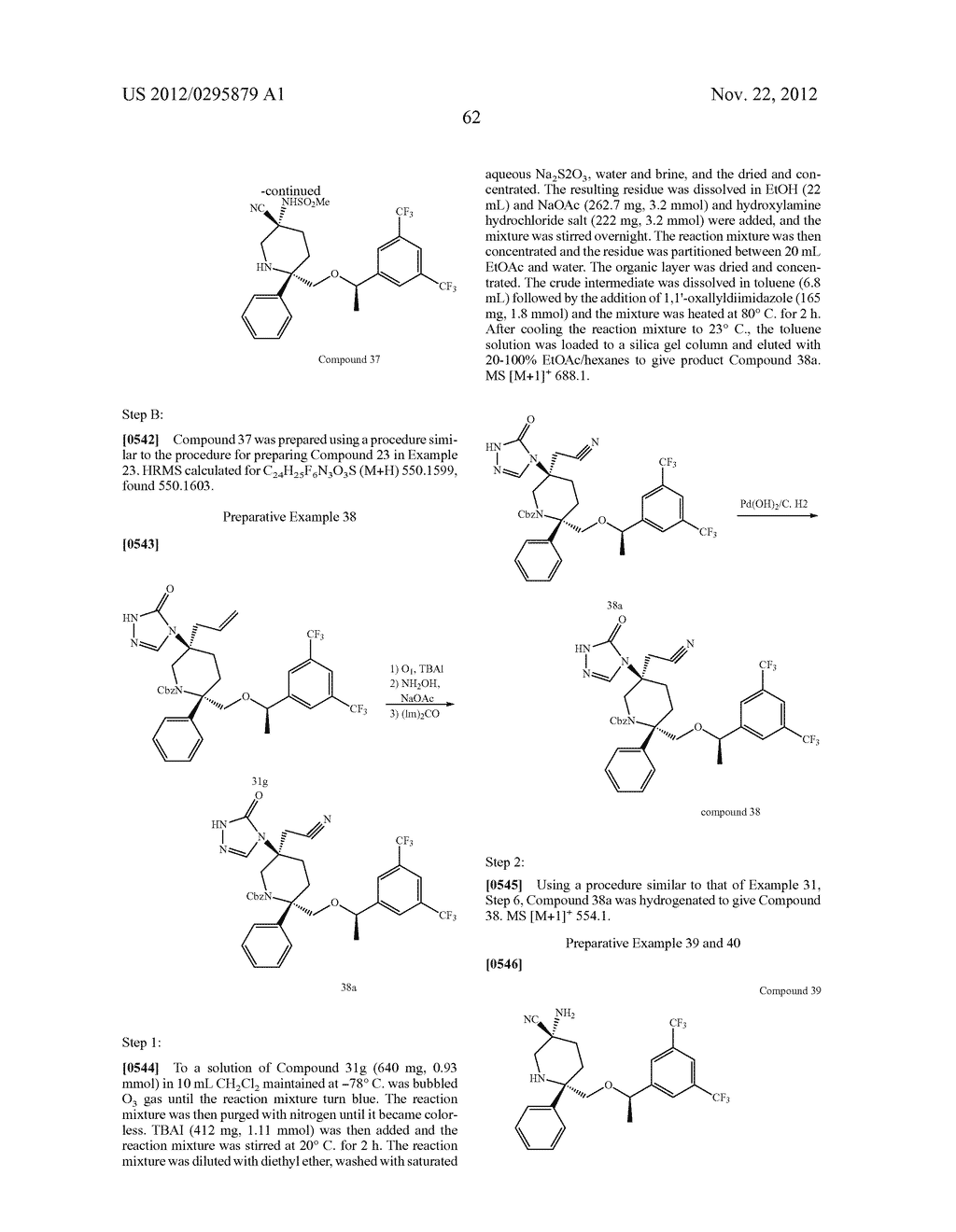 NK1 Antagonists - diagram, schematic, and image 63
