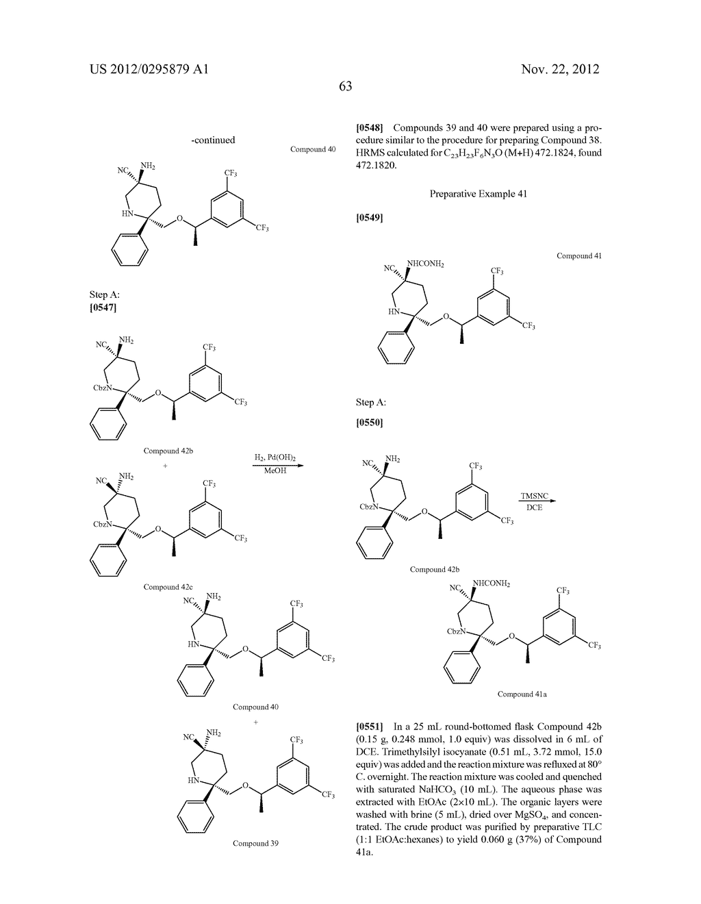 NK1 Antagonists - diagram, schematic, and image 64