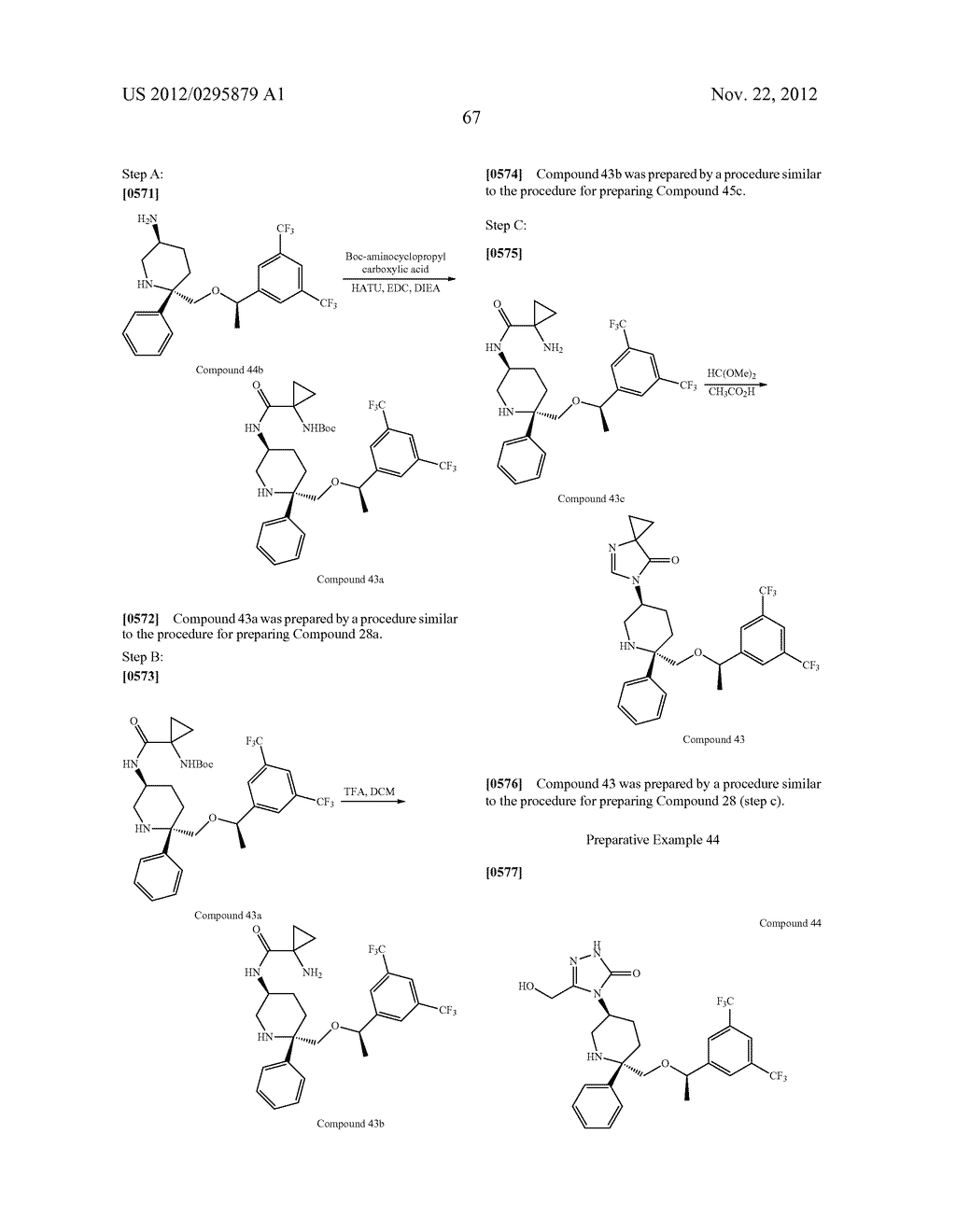 NK1 Antagonists - diagram, schematic, and image 68