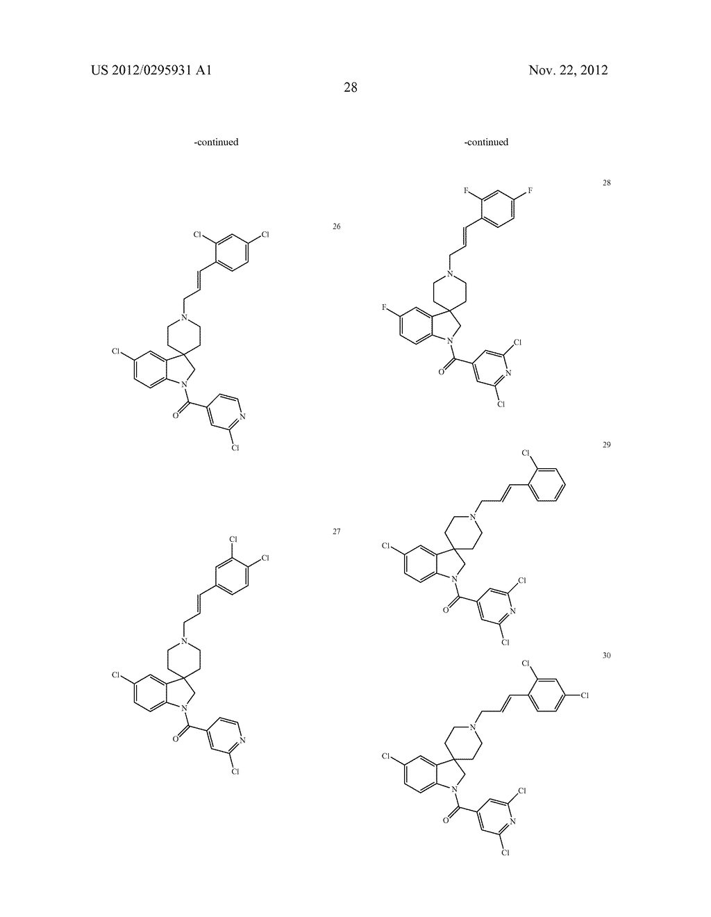 SPIROINDOLINE COMPOUNDS FOR USE AS ANTHELMINTHICS - diagram, schematic, and image 29