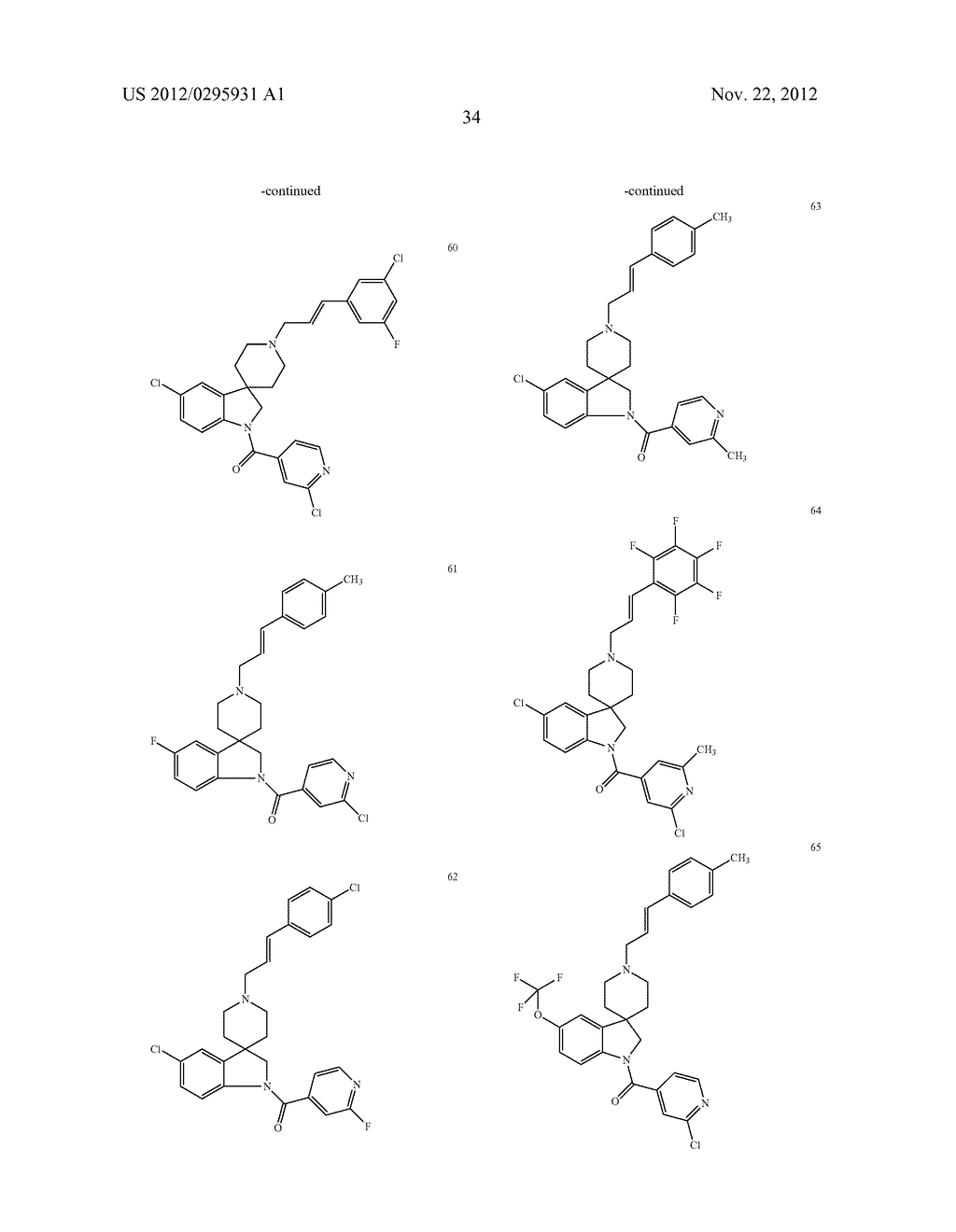 SPIROINDOLINE COMPOUNDS FOR USE AS ANTHELMINTHICS - diagram, schematic, and image 35