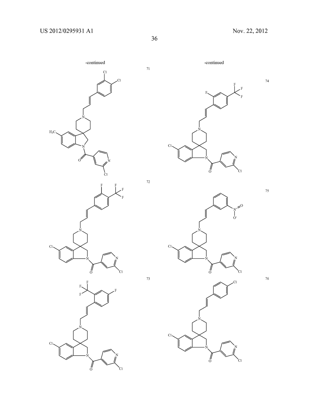SPIROINDOLINE COMPOUNDS FOR USE AS ANTHELMINTHICS - diagram, schematic, and image 37