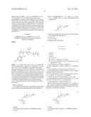 FLUOROETHER-FUNCTIONALIZED AMINOAROMATIC COMPOUNDS AND DERIVATIVES THEREOF diagram and image