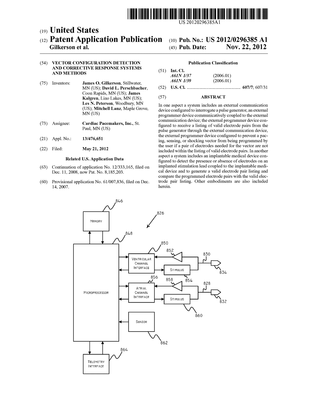 Vector Configuration Detection and Corrective Response Systems and Methods - diagram, schematic, and image 01