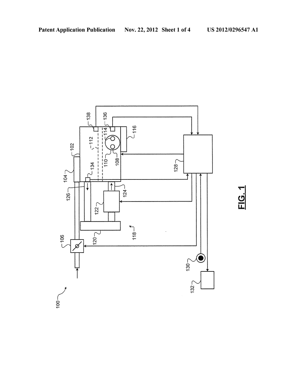 SYSTEM AND METHOD FOR DETERMINING COOLANT FLOW IN AN ENGINE - diagram, schematic, and image 02