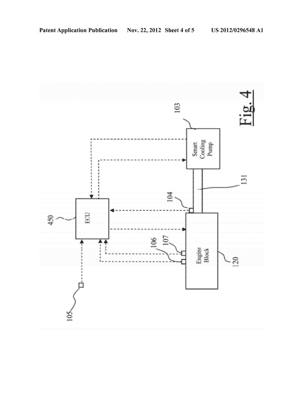 METHOD FOR PERFORMING ON/OFF DIAGNOSIS OF A SMART COOLING PUMP FOR AN     INTERNAL COMBUSTION ENGINE - diagram, schematic, and image 05